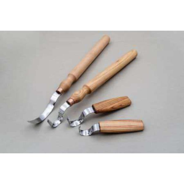 Beaver Craft S11 Spoon Carving Knife Set - 4 Spoon Carving Knives