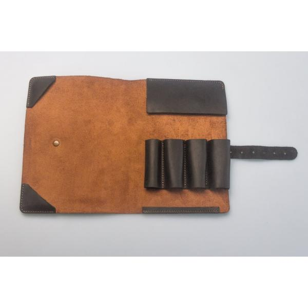 Beavercraft TR3X - Limited Edition Genuine Leather Pouch for 3 Tools