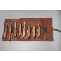 Beavercraft TR8X - Limited Edition Genuine Leather Pouch for 8 Tools