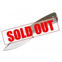 "Boker Plus Piranha Knife - 2.95"" Fixed Blade - Olive Green G10 Handle"