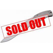 "Boker Plus Titan Drop Folding Knife 3-3/4"" Blade, Titanium Handles"
