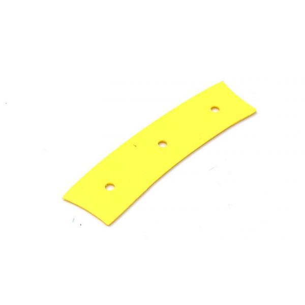 Brisa Ulu 150 Knife Making Kit - Walnut Handle, Brass Rivets, Yellow PP Liners