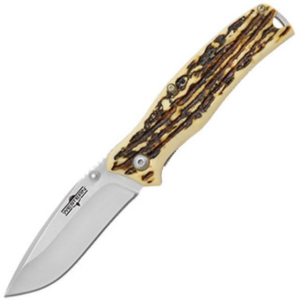 """Camillus Western Pronto 7"""" Titanium Nitride Bonded Folding Knife"""