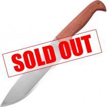 "Condor Moonshiner Knife 9"" Carbon Steel Blade, Hardwood Handles, Leather Sheath"