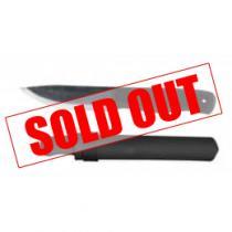 "Condor Terrasaur Knife Black 4.15"" 1095 Carbon Steel Blade Polypropylene Handle and Sheath"