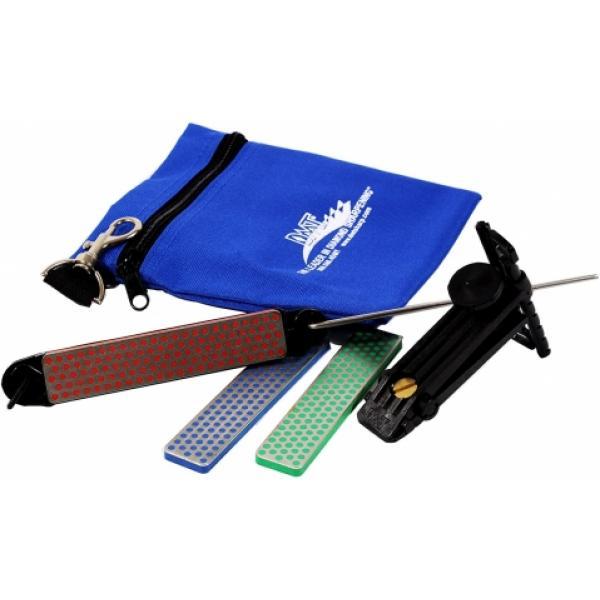 DMT AKEFC Aligner Diamond Knife Sharpening Kit with 3 Stones