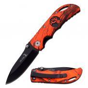 "Elk Ridge 134RCB Folding Knife - 2.75"" DP Fine Edge Blade"
