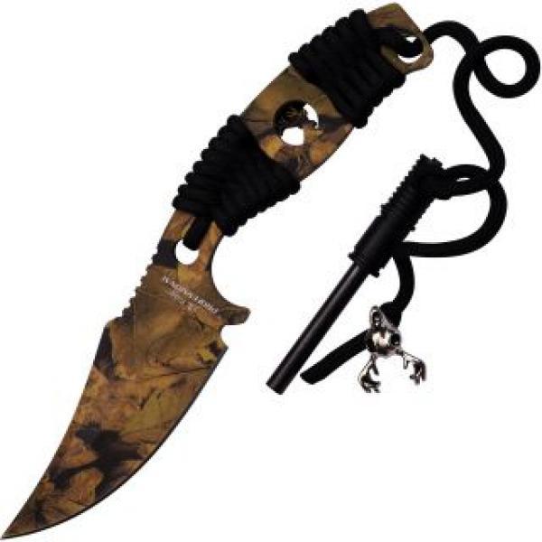 "Elk Ridge 20-01CA Professional Fixed Blade Knife with FireSteel - 4.25"" Blade"