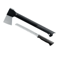 "Gerber Gator Combo Axe and Saw II - 2.7"" Axe Forged Steel Axe Head - 6.1"" Saw Blade"