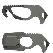 Gerber Strap Cutter - Green - 420HC Steel - Rubber Grip -Glass Breaker