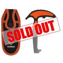"Gerber Vital Pack Saw 3.6"" SK5 Carbon Blade, Orange Rubberized Handle"