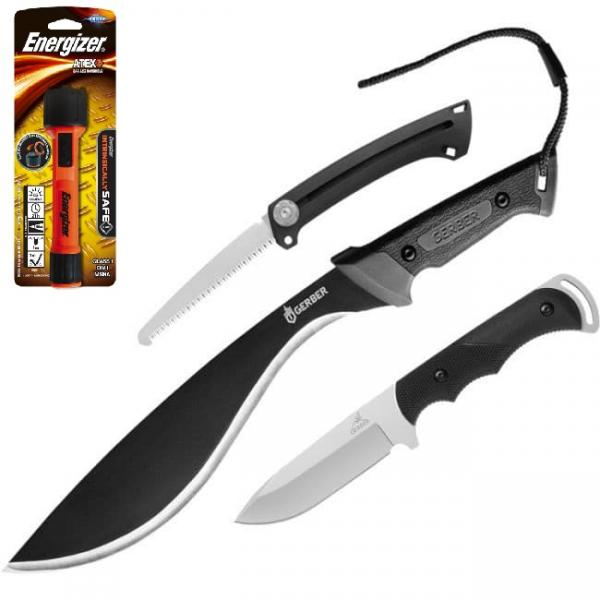 Gerber Pursuit Hunting Kit - with FREE Energizer ATEX 2AA LED Torch Worth £20