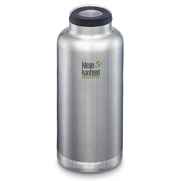 Klean Kanteen TKWide Insulated Water Bottle Wide Cap 1900ml - Brushed Stainless