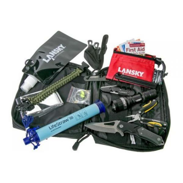 Lansky P.R.E.P. Survival Pack - All-in-one solution for Emergency, Disaster and Survival Situations