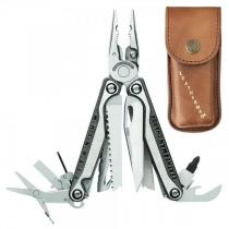 Leatherman Charge+ TTi Multi-Tool, Brown Heritage Leather Sheath