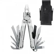 Leatherman Super Tool 300 Heavy-Duty Multi-Tool, Stainless, Leather Sheath