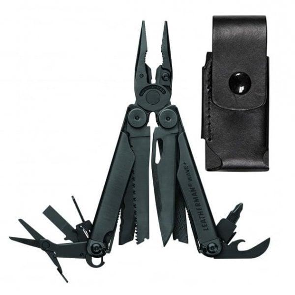 Leatherman Wave+ Multi-Tool Black with Leather Sheath
