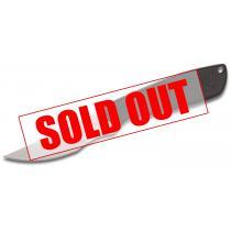 "Ontario Hunt Plus Caper Knife Fixed 4"" Satin Plain Blade, Synthetic Rubber Handle, Nylon Sheath"