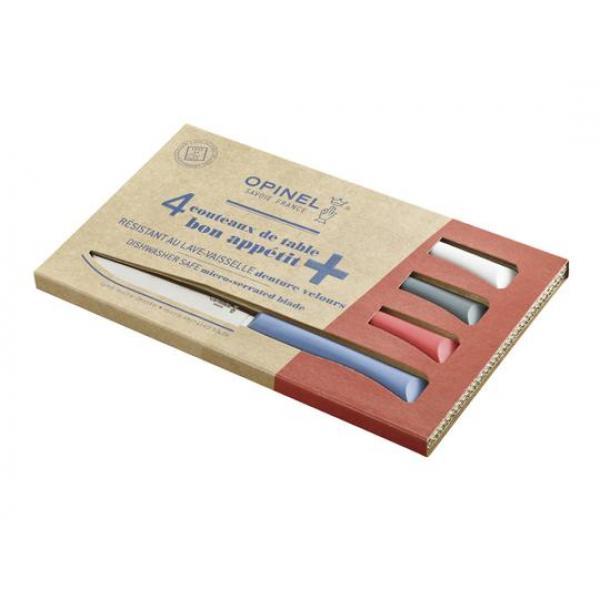 Opinel Bon Appetit + 4pc Table Knife Box Set - Primo