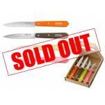 Opinel 50's Retro Coloured Kitchen Knife Set - 4 Piece