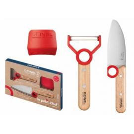 Opinel Le Petit Chef Knife Peeler and Finger Guard Box Set