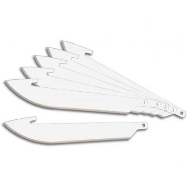 "Outdoor Edge 3.5"" Razor-Lite and Razor-Blaze Pack of 6 Replacement Blades"