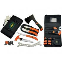 Outdoor Edge The Outfitter, 7 Piece Outdoor Tool Set in Nylon Roll Case