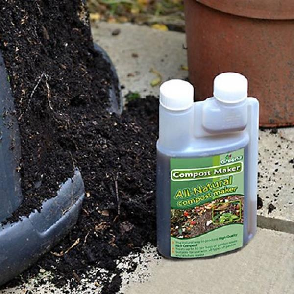 Compost Maker - All Purpose Grass and Garden Waste Compost Maker - 500ml