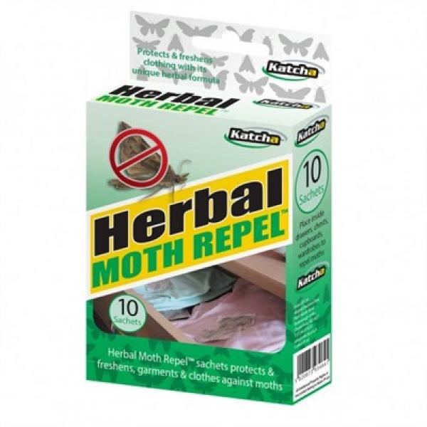 Herbal Moth Repellent - 100% Natural - Pack of 10