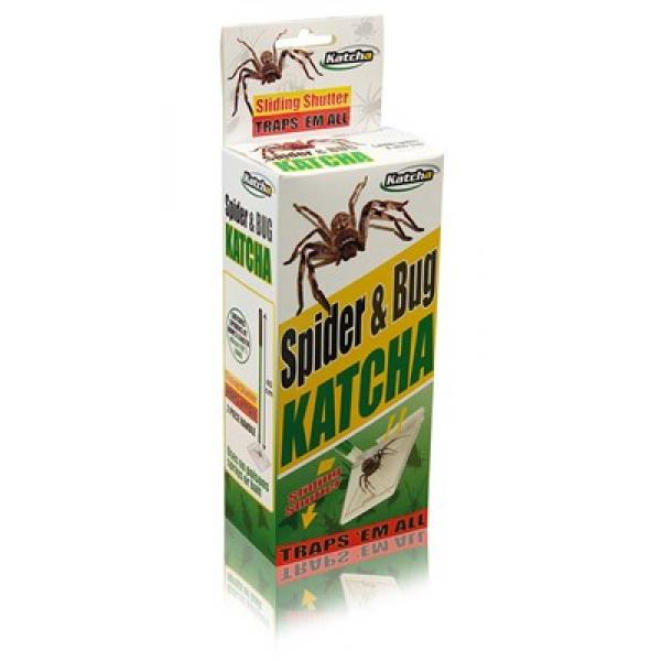 Katcha Bug and Spider Catcher Twin Pack - Trap and Release Spiders