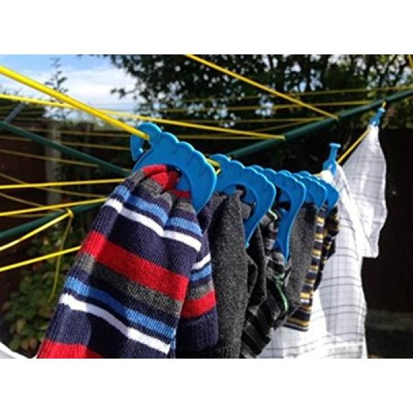 Neat Feet Sock Pairers - 12 pack - keeps socks together whilst washing and drying