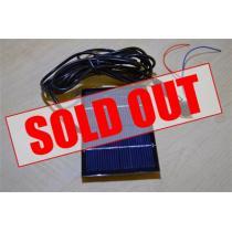 Solar Panel Kit - 6V, 1W, With Jack Plug