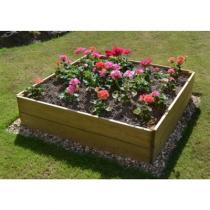 Wooden Garden Rectangular Raised Bed Kit - 9 Different sizes available