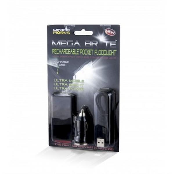 Pocket Floodlight Torch - USB Rechargeable