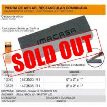 """Condor Imacasa 8"""" Dual Sided Sharpening Stone - Coarse and Fine"""