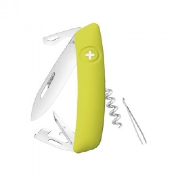 d31202616ff Swiza D03 Swiss Pocket Knife Multi-Tool Silver Blade - Moss