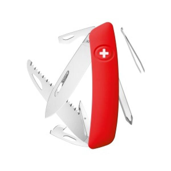 Swiza D06 Swiss Pocket Knife Multi-Tool  - Red