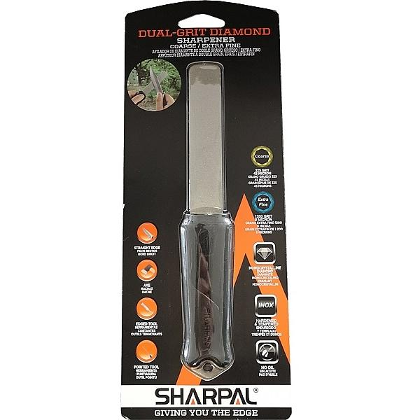 Sharpal Dual Grit Diamond Knife and Tool Sharpener - Coarse and Extra Fine