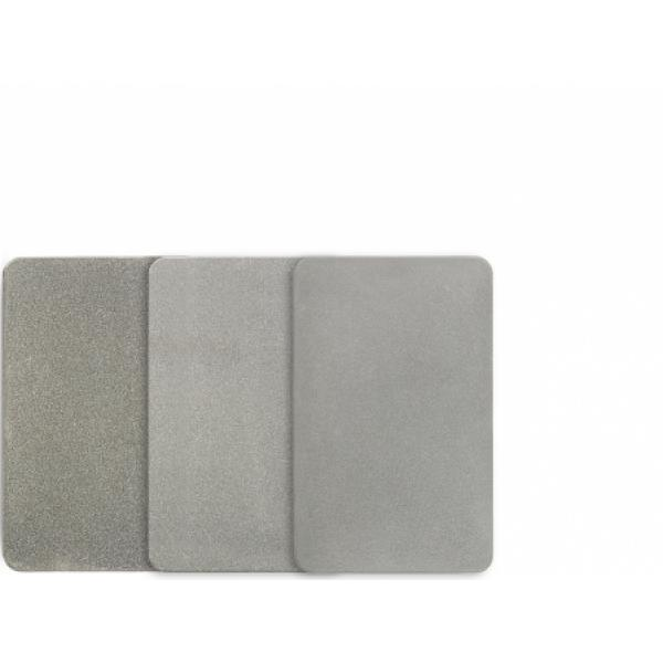 Sharpal 3 Piece Set of Credit Card Sharpening Stones - 325 - 600 and 1200 Grit