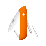Swiza D02 Swiss Pocket Knife Multi-Tool Silver Blade - Orange