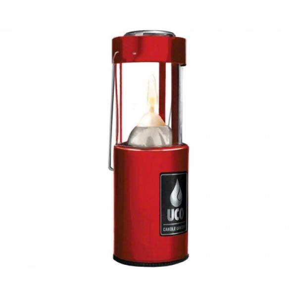 UCO 9 Hour Original Candle Lantern Red