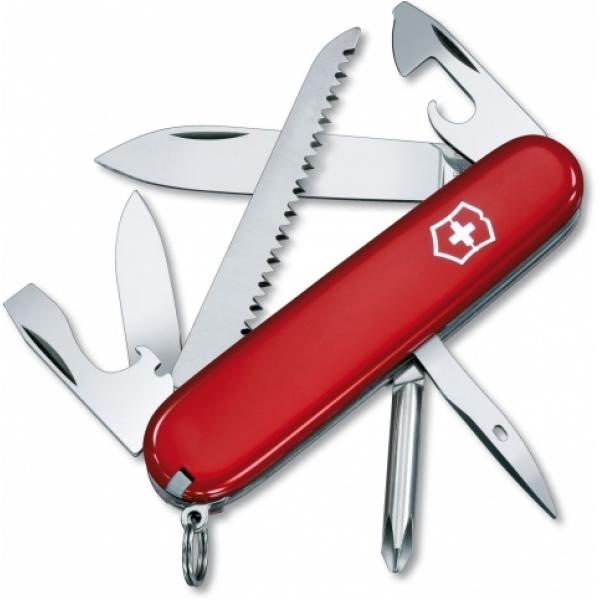 "Victorinox Swiss Army Hiker Multi-Tool, Red, 3.58"" Closed"