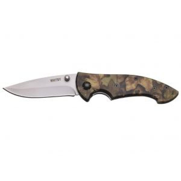 """Whitby 3"""" Camo Lock Knife - Stainless Steel Blade"""