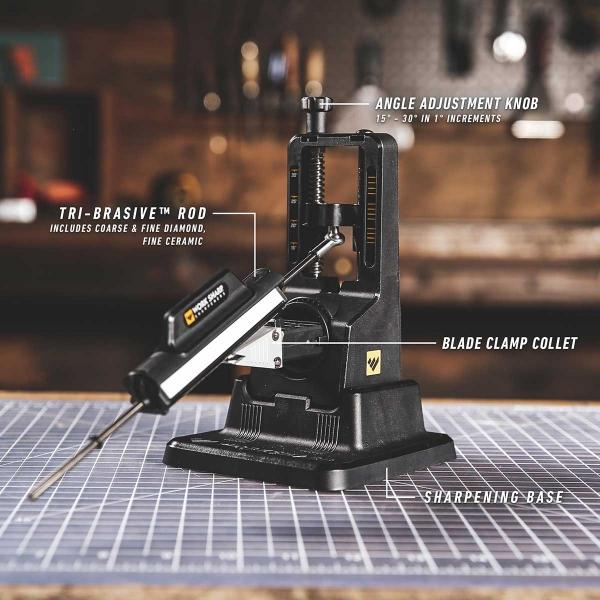 Work Sharp Benchtop Precision Adjust Knife Sharpener - WSBCHPAJ