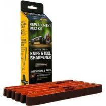 Work Sharp WSSA0002704 WSKTS P220 Medium Belt Kit, 6 Pack