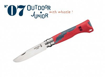 Opinel No. 7 Outdoor Junior Knife Red